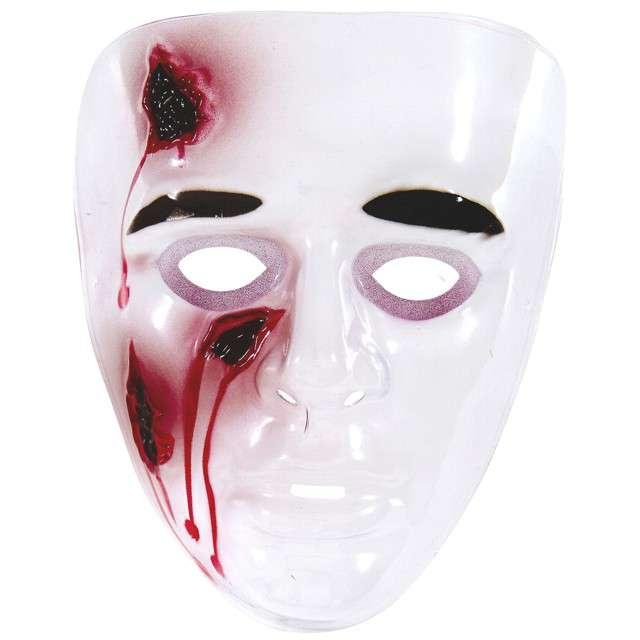 """Maska """"Krwawa Twarz"""", plastikowa, WIDMANN"""