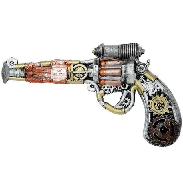 "Broń ""Rewolwer Steampunk"", WIDMANN, 32 cm"