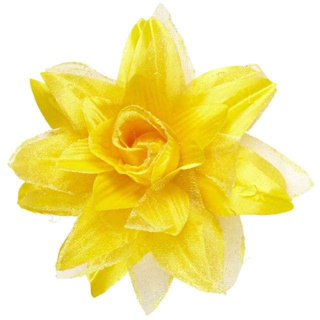 """Spinka do włosów """"Kwiat"""", żółty, WIDMANN"""
