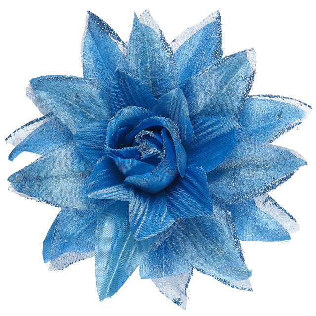 """Spinka do włosów """"Kwiat"""", niebieski, WIDMANN"""