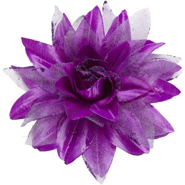 """Spinka do włosów """"Kwiat"""", fioletowy, WIDMANN"""
