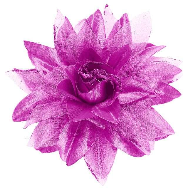 """Spinka do włosów """"Kwiat"""", liliowy, WIDMANN"""