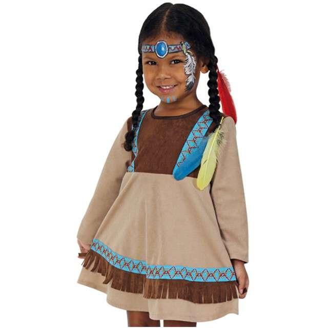 """Strój dla dzieci """"Indianka"""", FRIES, rozm. 93-98 cm"""