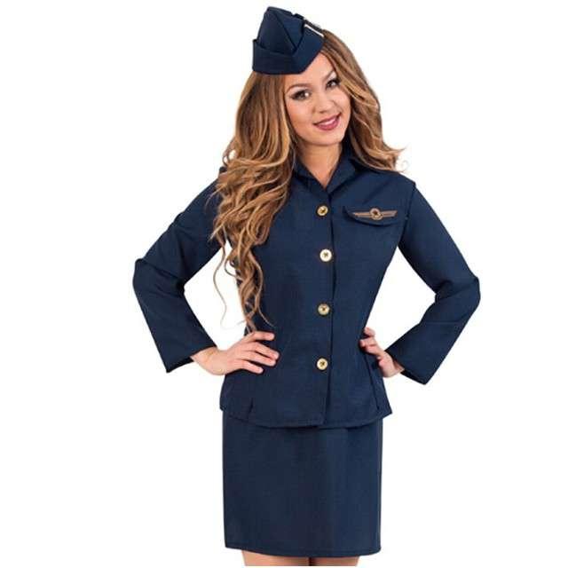 """Strój dla dorosłych """"Stewardess"""", FRIES, rozm. S"""