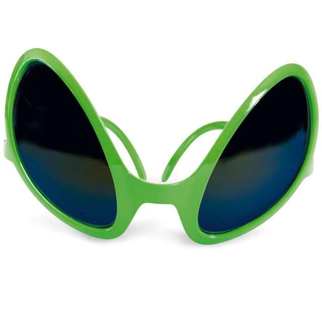 "Okulary party ""Kosmita"", zielony, FRIES"