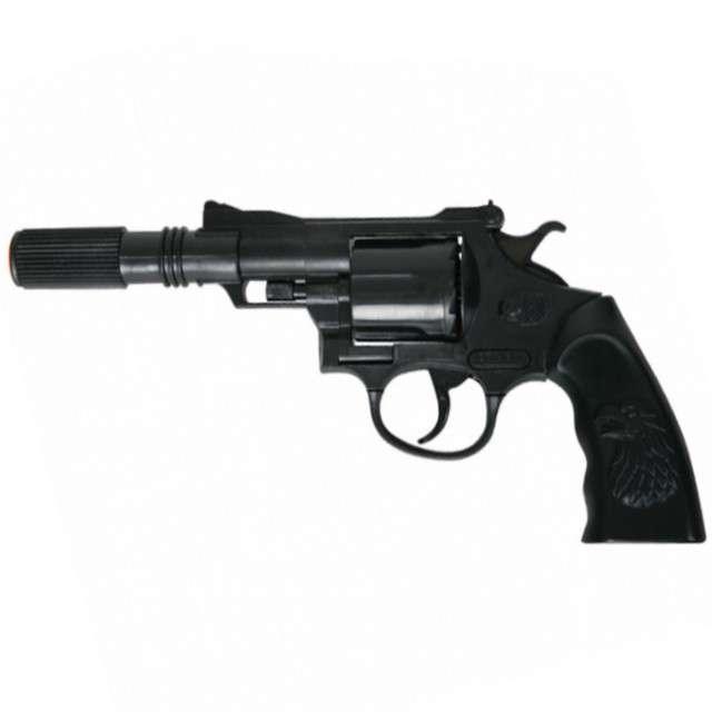 """Broń """"Rewolwer Buddy na kapiszony"""", FRIES, 23 cm"""