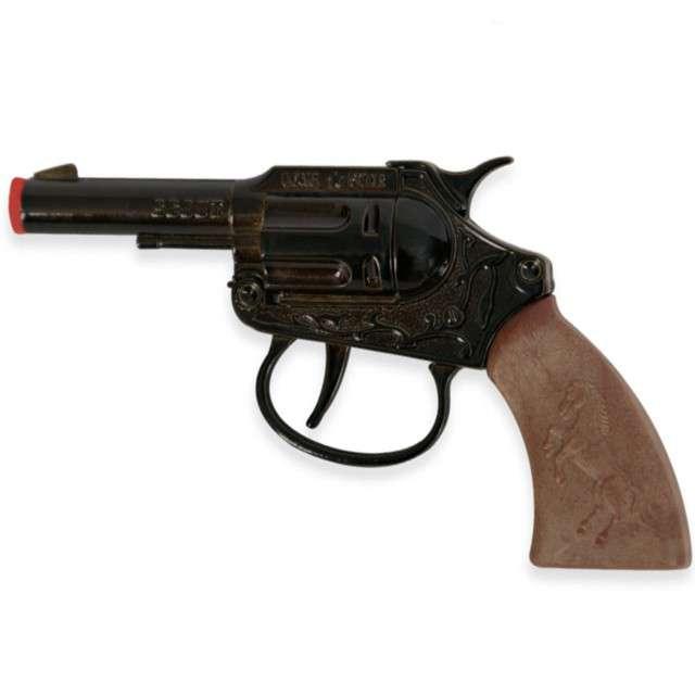 """Broń """"Rewolwer Scout na kapiszony"""", FRIES, 13 cm"""