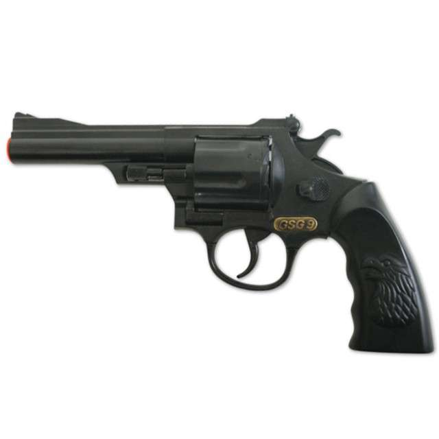 """Broń """"Rewolwer Agenta na kapiszony"""", FRIES, 20 cm"""