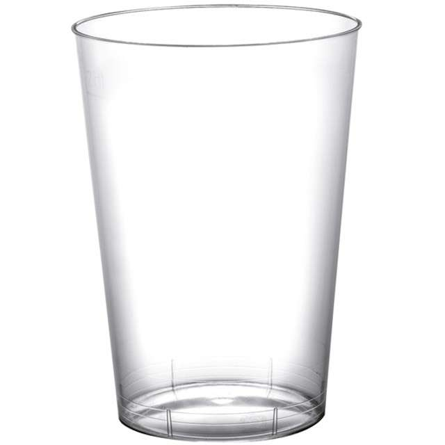 "Szklanki jednorazowe ""Drink Mini"", transparentne, GoldPlast, 200 ml, 10 szt"