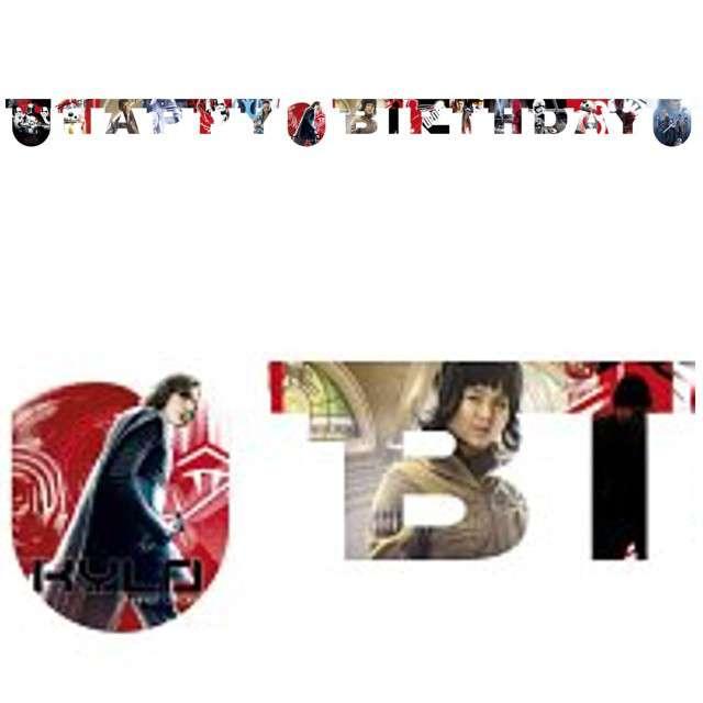 "Baner ""Star Wars - Happy Birthday - The Last Jedi"", PROCOS, 200 cm"