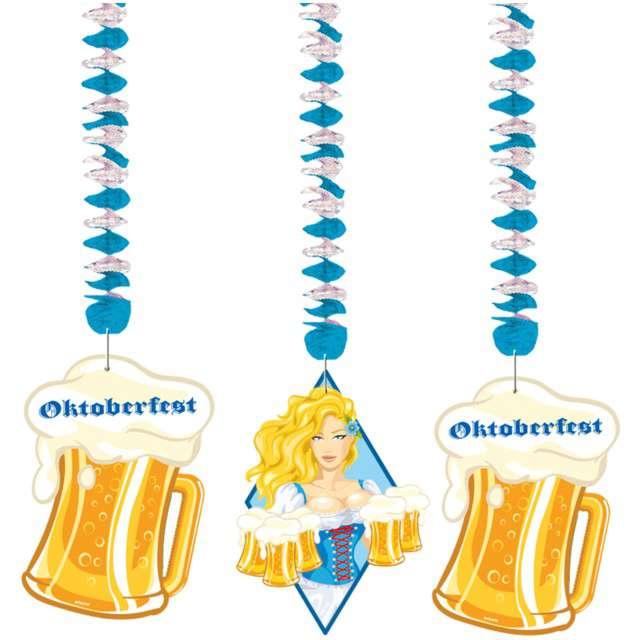 """Świderki wiszące """"Oktoberfest"""", FOLAT, 3 szt"""