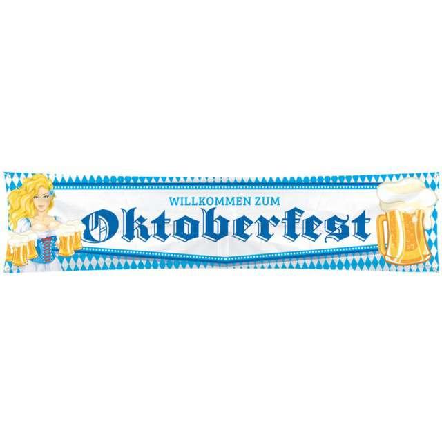 """Baner """"Oktoberfest"""", FOLAT, 180x40 cm"""