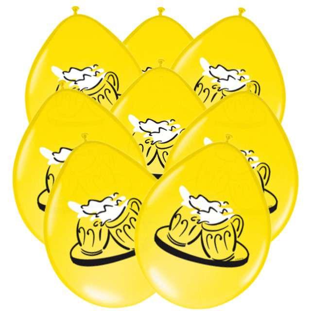"""Balony """"Piwo Oktoberfest"""", pastel żółte, 12"""", FOLAT, 8 szt"""
