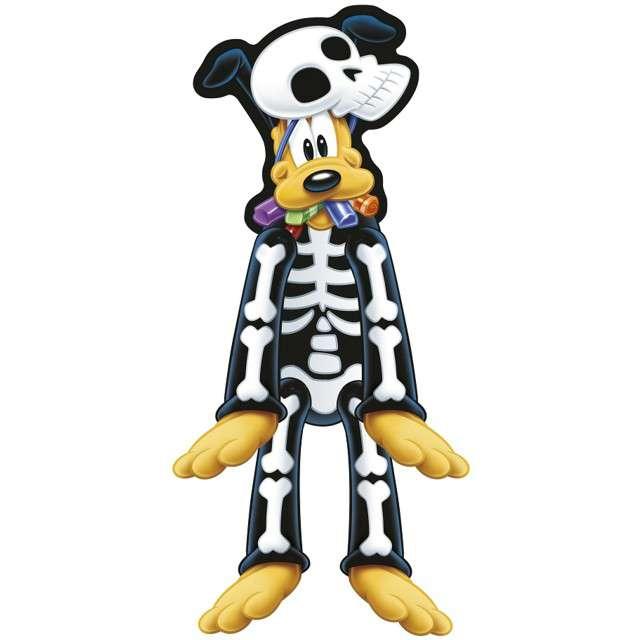 """Dekoracja wisząca """"Pluto Szkielet - Mickey Halloween"""", PROCOS, 62 cm"""