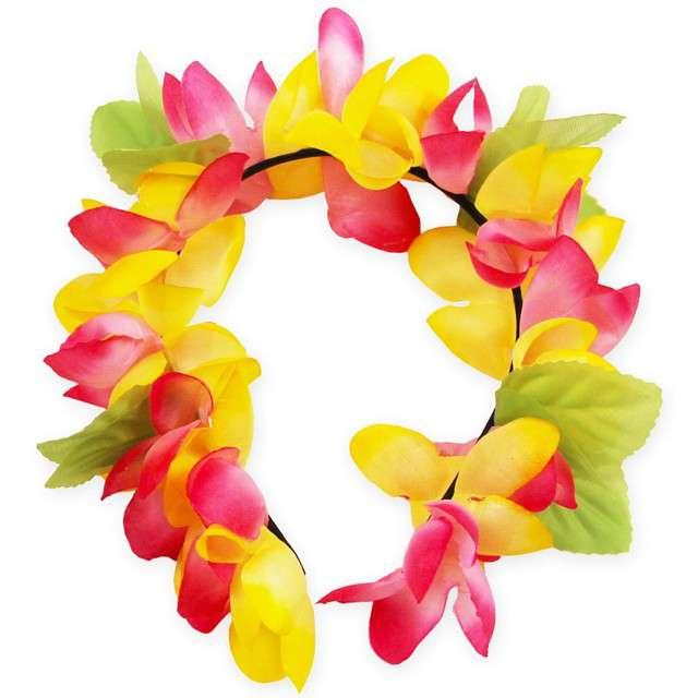 """Opaska party """"Hawajskie Kwiaty"""", mix, GODAN"""