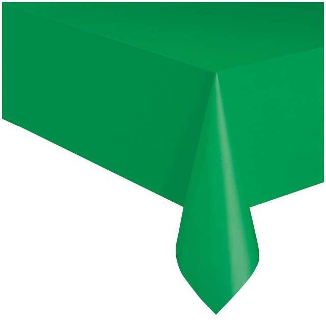"""Obrus foliowy """"Classic"""", zielony, UNIQUE, 275x137 cm"""