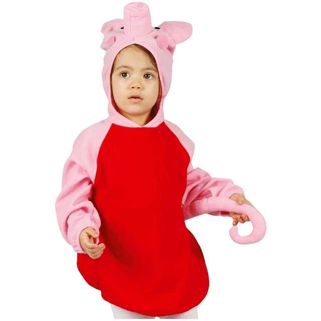 """Strój dla dzieci """"Świnka Różowa"""", GODAN, rozm. 92/104 cm"""