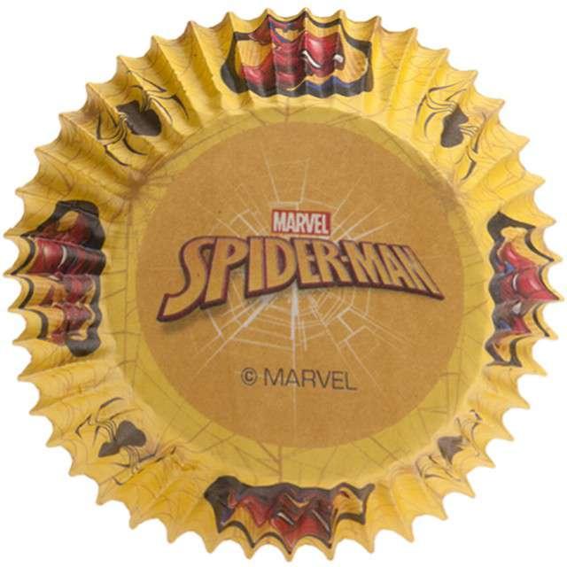 """Foremki na muffinki """"Spiderman"""", DEKORA, 25 szt"""