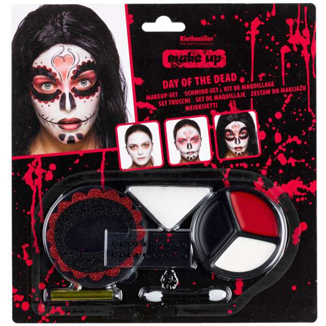 Make-up party Meksykańska Śmierc - Day of the Dead AMSCAN