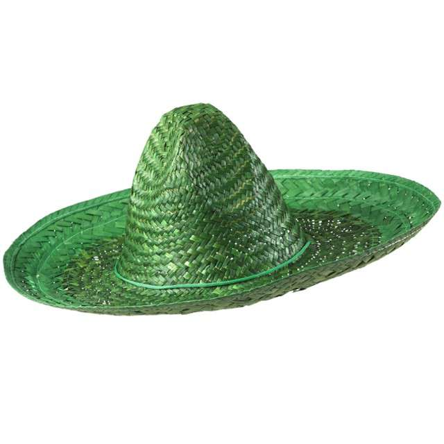 "Kapelusz ""Sombrero"", zielony, WIDMANN, 48 cm"