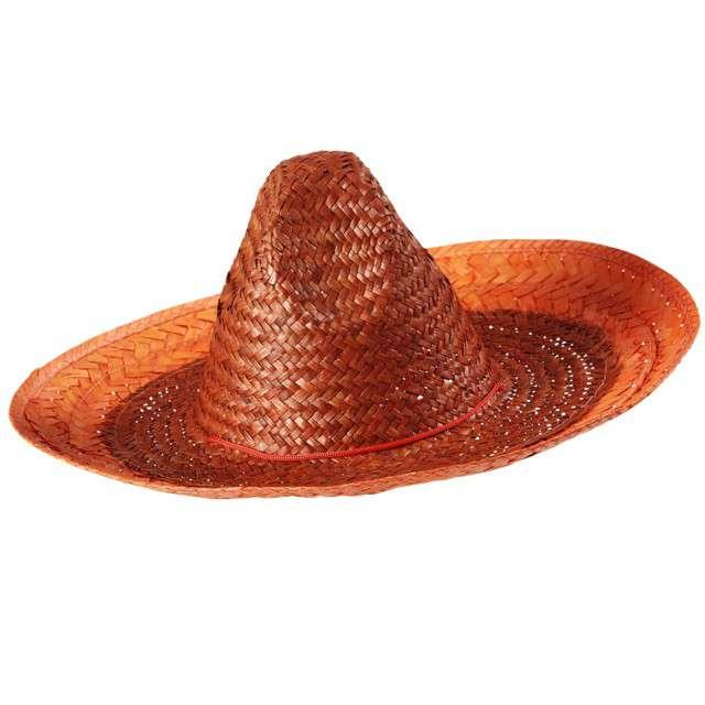 "Kapelusz ""Sombrero"", pomarańczowy, WIDMANN, 48 cm"