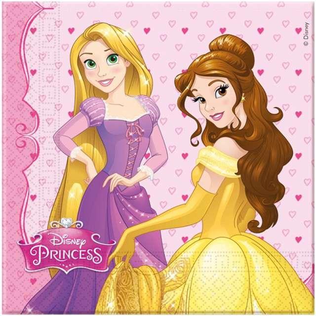 "Serwetki ""Princess Dreaming"", PROCOS, 33 cm, 20 szt"