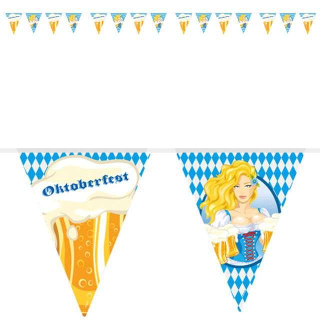 """Baner flagi """"Oktoberfest"""", FOLAT, 1000 cm"""