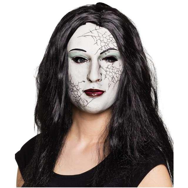 """Maska """"Zombie Kobieta"""", lateksowa, BOLAND"""