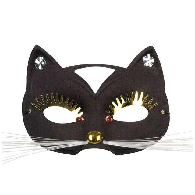 "Maska ""Czarny Kot"", czarna, BOLAND"
