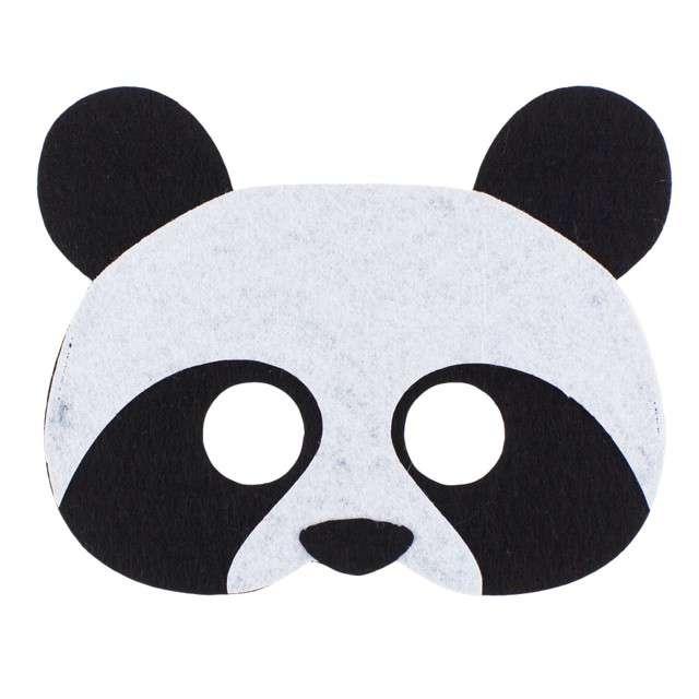 """Maska """"Panda"""", filcowa, GODAN"""