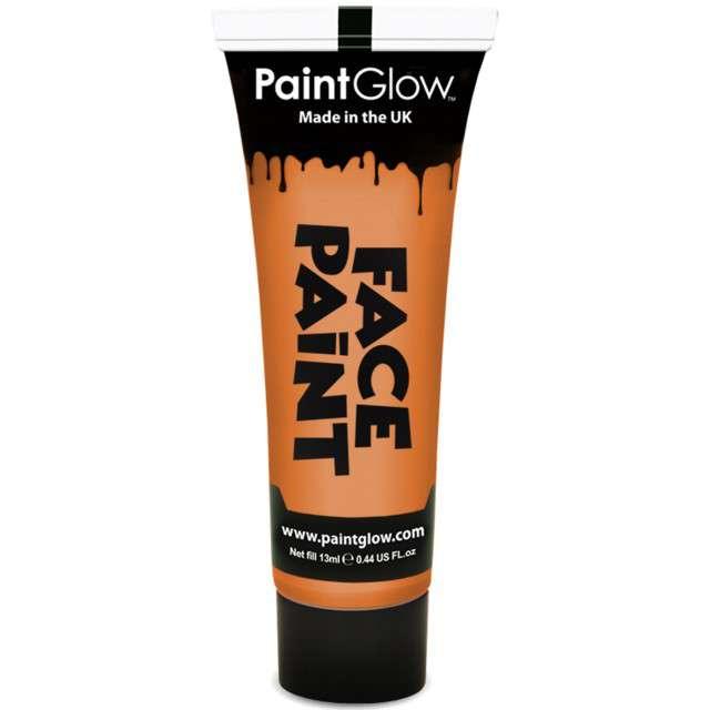 """Make-up party """"Farba do Makijażu"""", pomarańczowa, PaintGlow, 13 ml"""