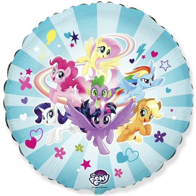 "Balon foliowy ""My Little Pony - Drużyna "", FLEXMETAL, 18"" CIR"