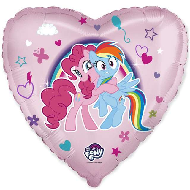 "Balon foliowy ""My Little Pony"", FLEXMETAL, 18"" HRT"