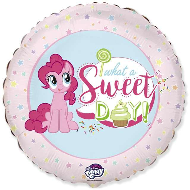 "Balon foliowy ""My Little Pony"", FLEXMETAL, 18"" CIR"
