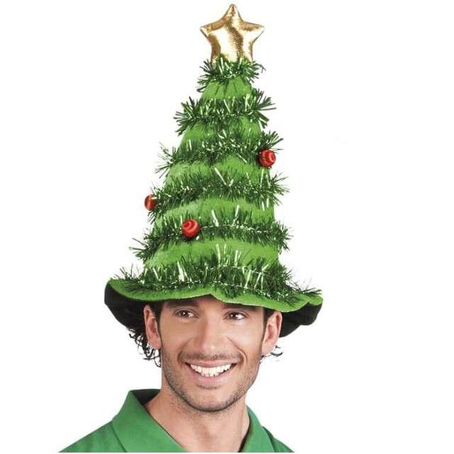 Czapka Świąteczna Choinka z gwiazdą BOLAND