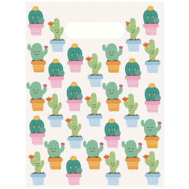 """Torebki foliowe """"Kaktus"""", PROCOS, 6 szt"""