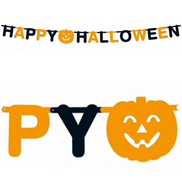 """Baner """"Happy Halloween - Dynia"""", GODAN, 350 cm"""