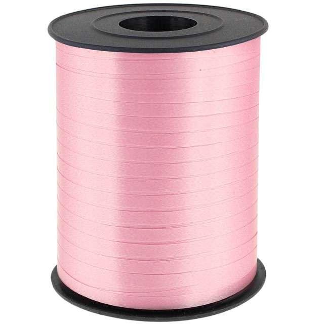 """Wstążka do balonów """"Classic"""", różowa perłowa, ADIKBAL, 5 mm/500 m"""