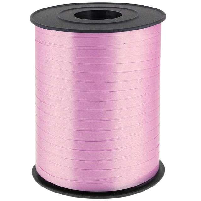 """Wstążka do balonów """"Classic"""", różowa pudrowa, ADIKBAL, 5 mm/500 m"""