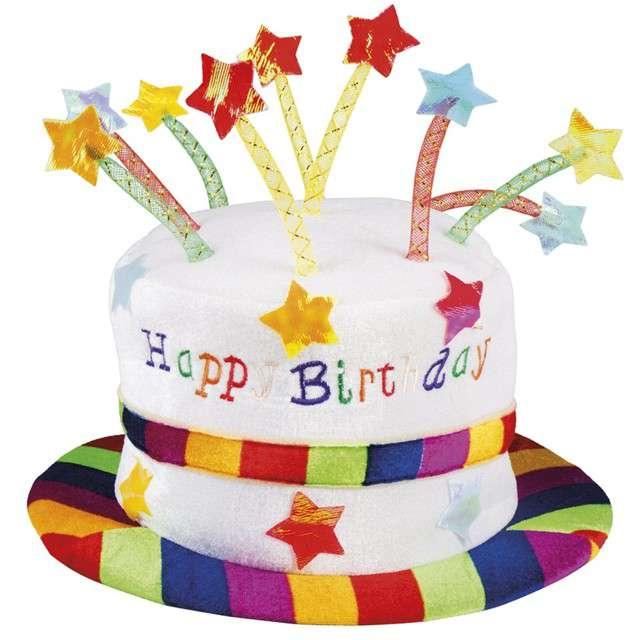 """Kapelusz """"Urodzinowy - Happy Birthday"""", BOLAND"""
