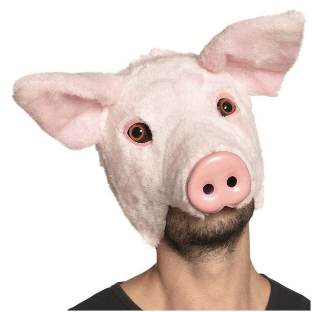 Maska Świnia pluszowa BOLAND