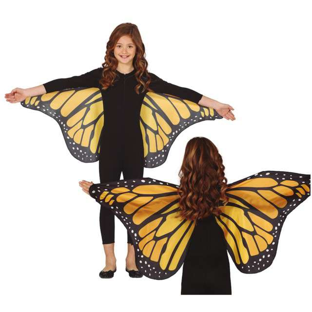 """Skrzydła """"Motyl Classic"""", pomarańczowy, GUIRCA"""