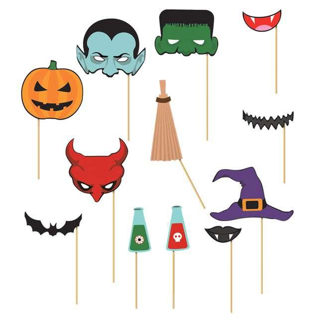 """Fotogadżet patyczki """"Halloween"""", GUIRCA, 12 szt"""