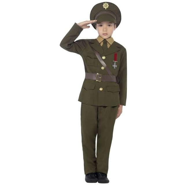 """Strój dla dzieci """"Wojskowy Oficer"""", SMIFFYS, rozm. 10-12 lat"""