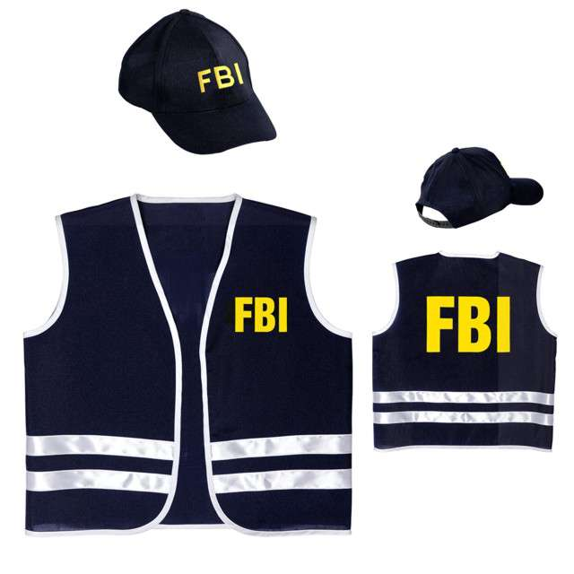 Zestaw Agent FBI WIDMANN rozm. 8-10 lat