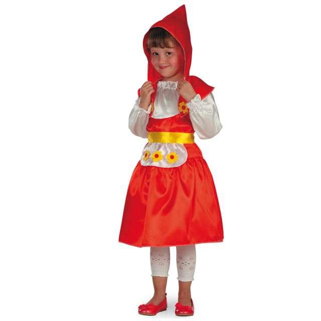 """Strój dla dzieci """"Czerwony Kapturek"""", Carnival Toys, rozm. 6-7 lat"""