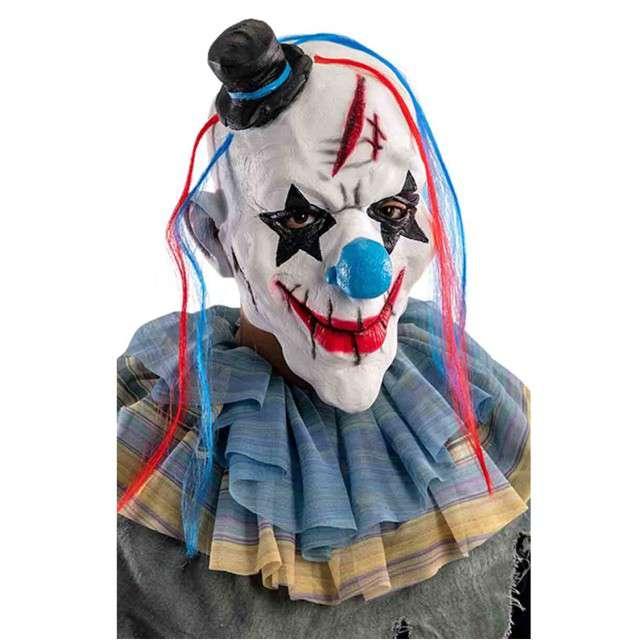 "Maska ""Klaun"", lateksowa, CarnivalToys"