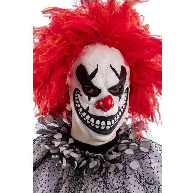 "Maska ""Klaun Psychopata"", lateksowa, CarnivalToys"