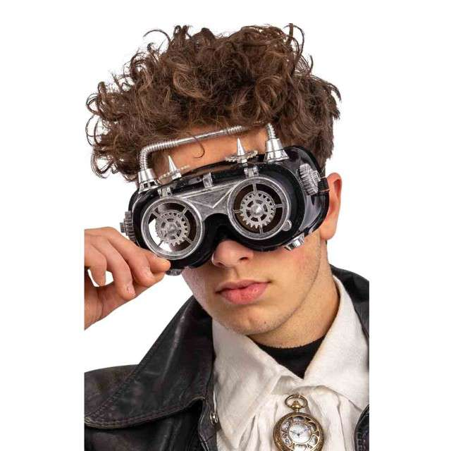 Okulary Steampunk Gogle CarnivalToys