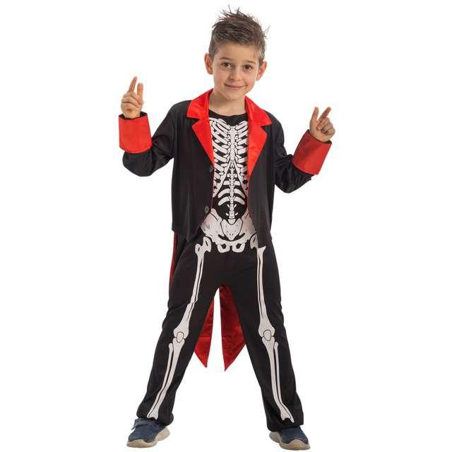 """Strój dla dzieci """"Szkielet"""", Carnival Toys, rozm. 4-5 lat"""